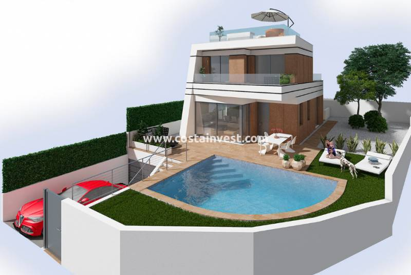Villa - New Build - Orihuela Costa - Las Filipinas