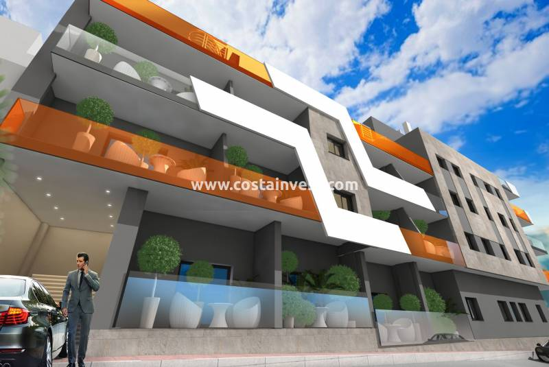 Apartment - Construcția nouă - Torrevieja - Downtown