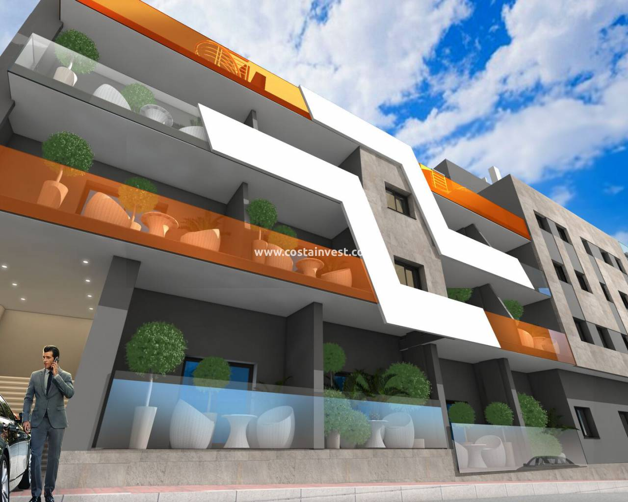 Construcția nouă - Apartment - Torrevieja - Downtown