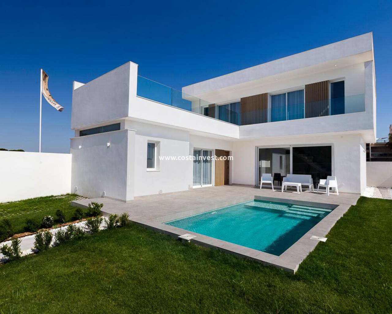 New Build - Villa - Santiago de la Ribera