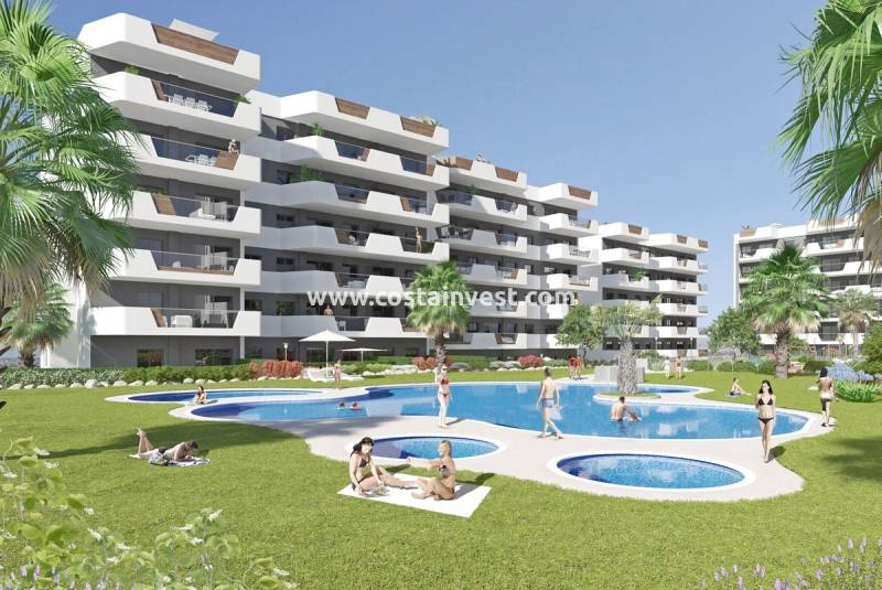 Apartment - New Build - Alicante - Arenales del Sol