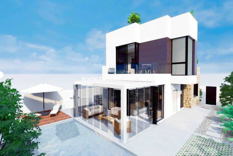 Villa - New Build - Torrevieja - Torrelamata
