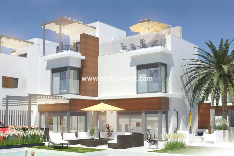 Semidetached Villa - New Build - Santiago de la Ribera - Santiago de la Ribera