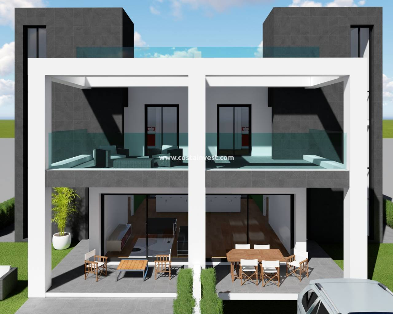 New Build - Semidetached Villa - Benijófar - Benijofar