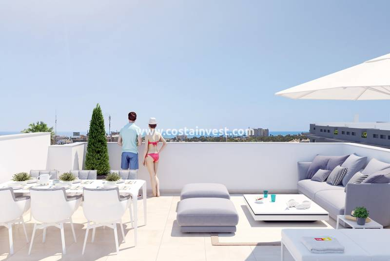 Penthouse - New Build - Orihuela Costa - Playa Flamenca