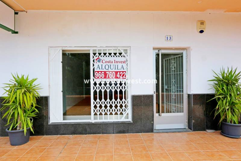 Commercial - Rental - Orihuela Costa - Playa Flamenca